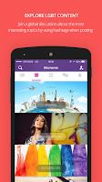 Screenshot of Moovz- The LGBT Social Network