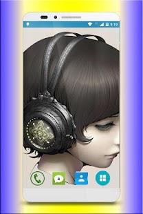 Headphone Wallpaper HD - náhled