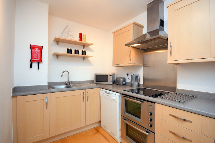 Fully equipped kitchen at Sirocco Apartment