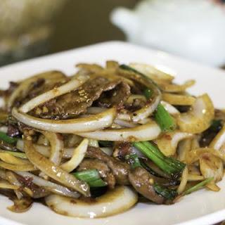 Best Ever Crockpot Mongolian Beef.