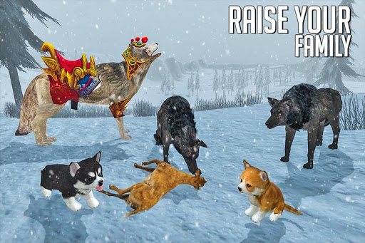 Wolf Simulator: Wild Animal Attack Game 1.0 de.gamequotes.net 5