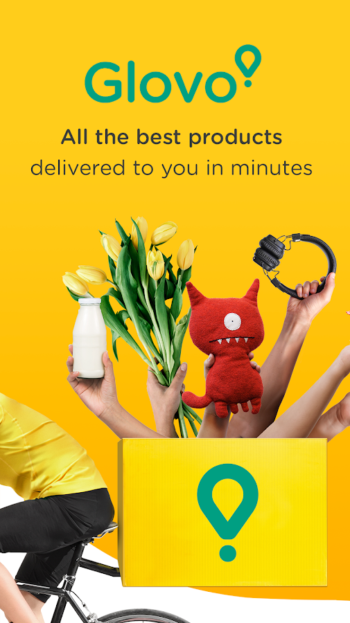 Glovo: delivery from any store- screenshot