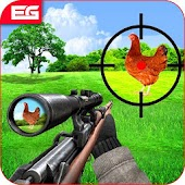Chicken Shooter: Chicken Scream Hunting Tough Game