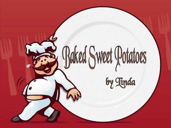 Baked Sweet Potato Recipe