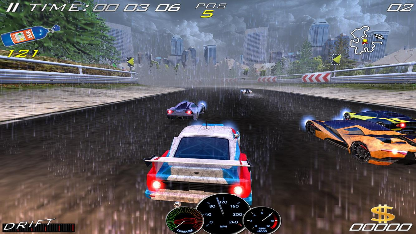 Speed Racing Ultimate 4 Free- screenshot