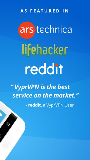 VPN - Fast, Secure & Unlimited WiFi with VyprVPN  screenshots 2