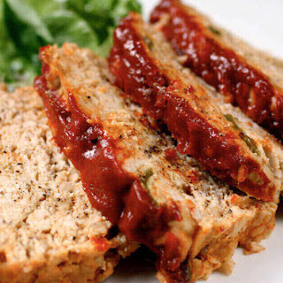 Healthy Saucy Meatloaf
