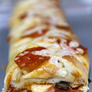 Quick & Easy Pepperoni Pizza Braid.