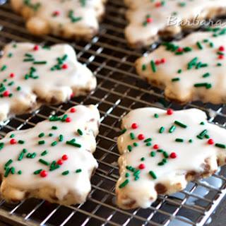 Cinnamon Chip Shortbread Cookies Recipe