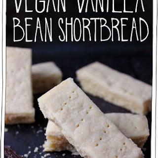 Vegan Vanilla Bean Shortbread