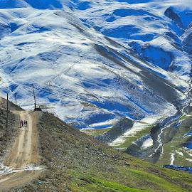 Way by Tomasz Budziak - Landscapes Mountains & Hills ( mountains, landscapes, caucasian )