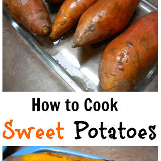 How to Cook a Sweet Potato.