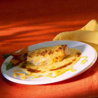 Orangen-Gratin-Sauce z. B. zu Hähnchenbrustfilet