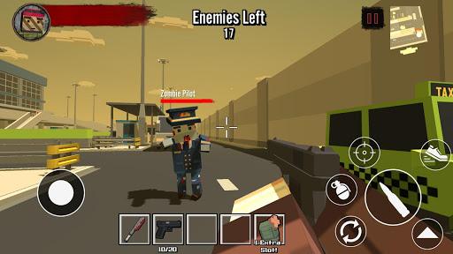 Blocky Zombie Survival 2 1.4 screenshots 1