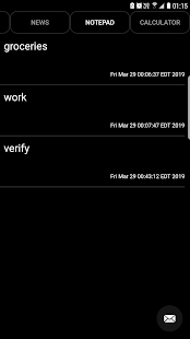 App Notepad Dark APK for Windows Phone