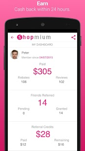 Shopmium - Exclusive Offers- screenshot thumbnail