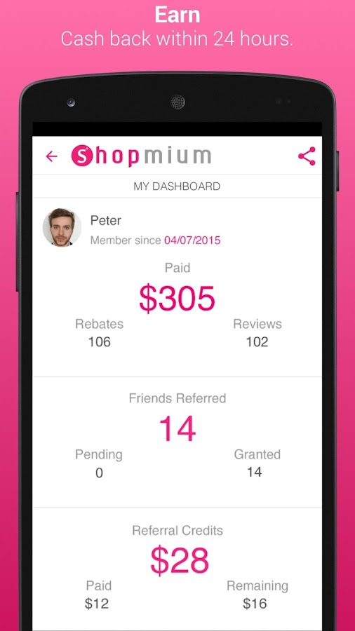 Shopmium - Exclusive Offers- screenshot