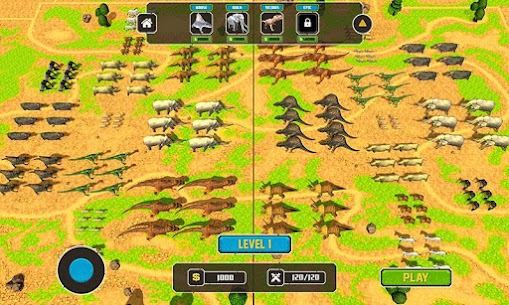 Wild Animals Kingdom Battle 2