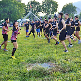 Exercise by Koh Chip Whye - Sports & Fitness Fitness