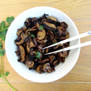 Asian Stir-fried Mushrooms.