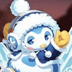氷刻のペンギン