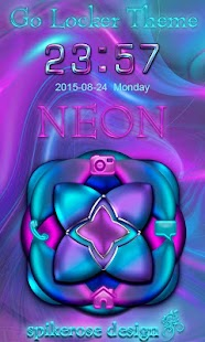 How to download Neon Go Locker theme 2 unlimited apk for pc