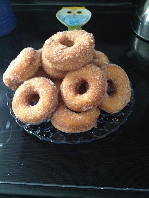 Old Fashioned Raised Doughnuts Recipe