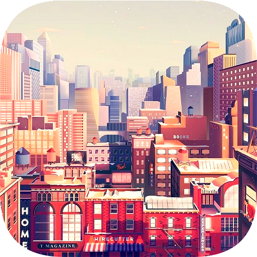 About: Pixel Art City Wallpaper (Google Play version