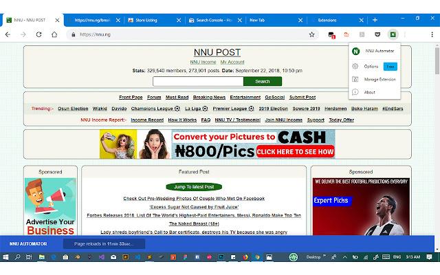 NNU News Automator