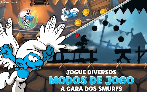 Os Smurfs Epic Run Screenshot