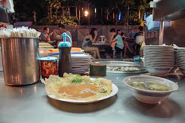 廣州街夜市香脆蚵仔煎