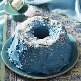Blueberry Bundt Cake.