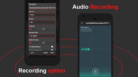 AudioLab Pro v1.1.8 MOD APK – Audio Editor Recorder & Ringtone Maker 4