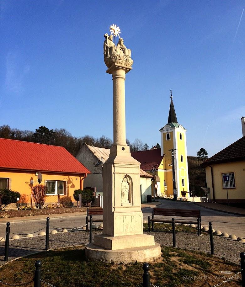 Beckov village, Slovakia
