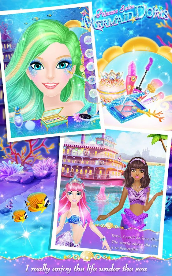 Princess Salon: Mermaid Doris- screenshot
