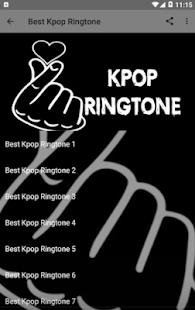 Kpop Ringtone Offline Screenshot