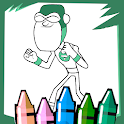 Coloring Titans Teen Game Funny Cute icon