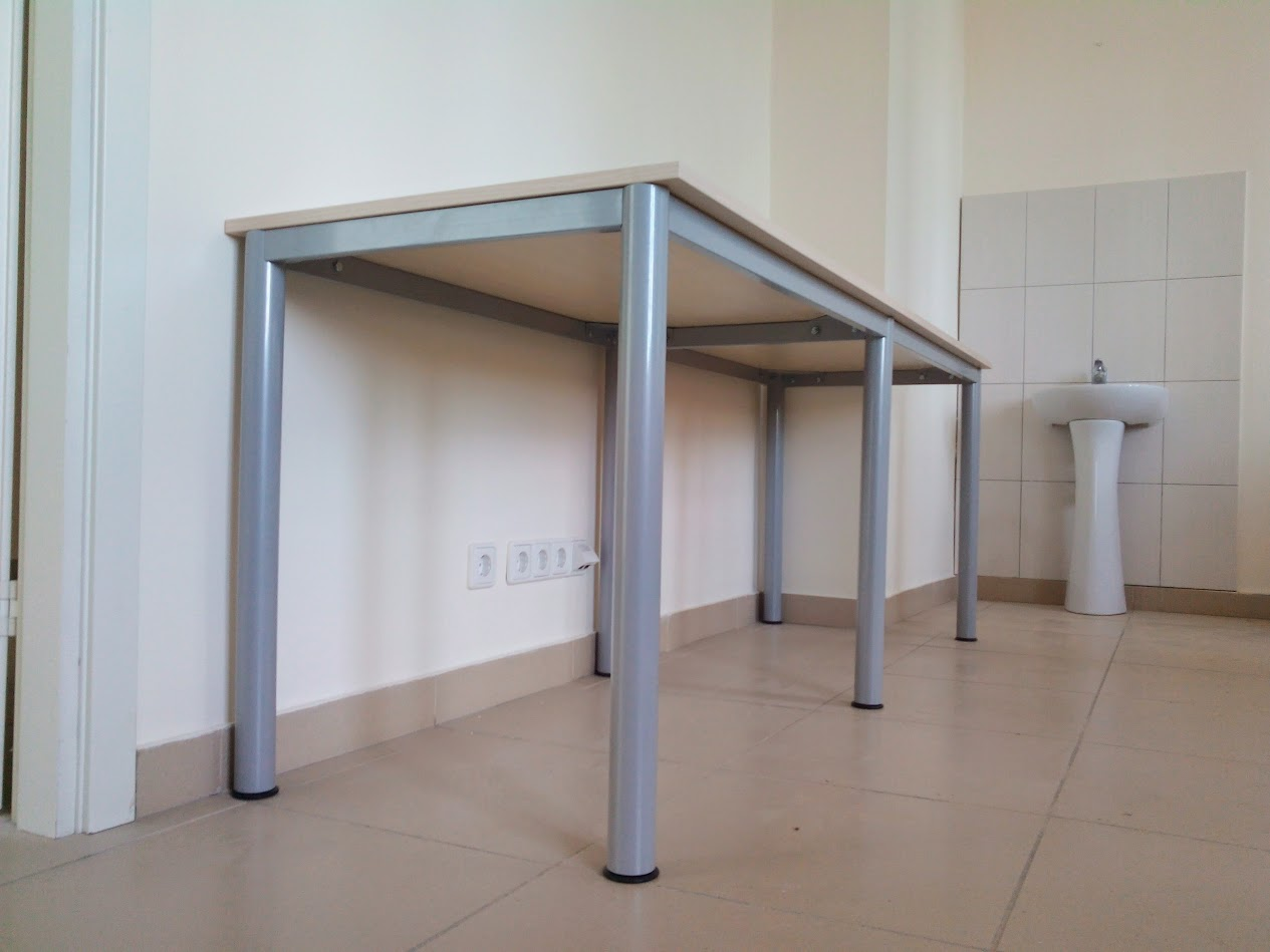 Производство лабораторной мебели, мебели для медицинских учреждений с использованием каркасов BASE 51