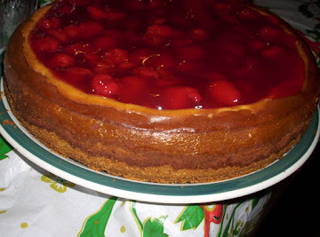 Cherry-topped Cheesecake Recipe