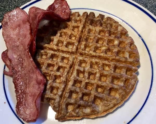 Grandma's Norwegian Oatmeal Waffles
