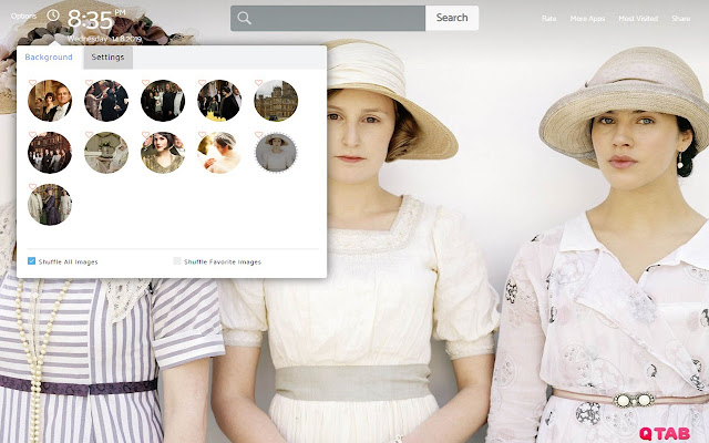 DOWNTON ABBEY Wallpapers New Tab