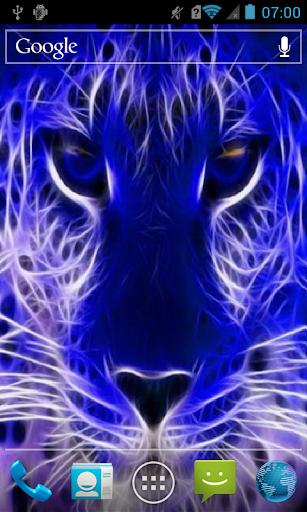 Blue leopard Live WP