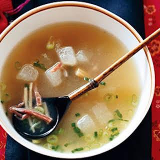 Winter Melon Soup.