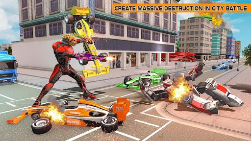 Cheetah Robot Car Transformation Formula Car Robot filehippodl screenshot 11