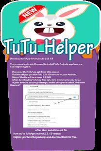 Guide Tutu App Tutu Helper - náhled