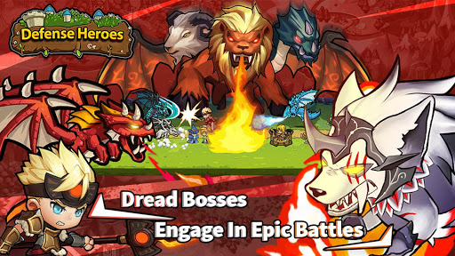 Defense Heroes: Defender War Offline Tower Defense 0.1.6 screenshots 8