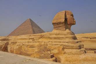 Photo: Sphinx and The Great Pyramid