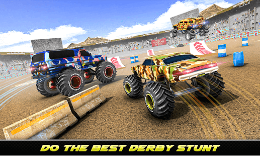 Army Monster Truck Demolition : Derby Games 2020 for PC-Windows 7,8,10 and Mac apk screenshot 1