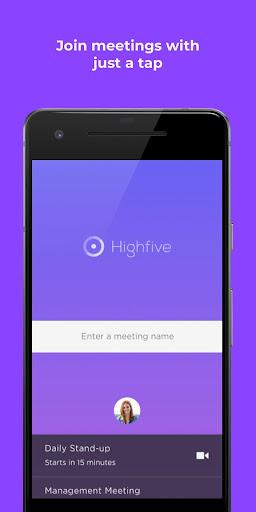 Highfive Video Conferencing v2.100.0-95-gb33dd84 screenshots 1