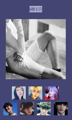 Guess BTS member game 4.0 screenshots 1